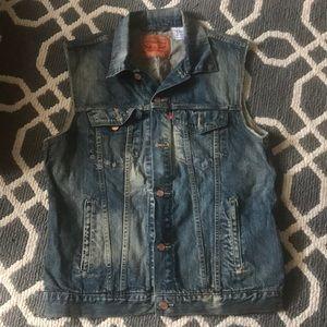 Levi Strauss & Co Size XL Denim Vest